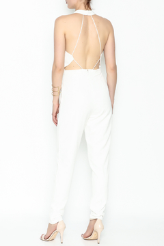 lucca couture White Halter Jumpsuit - Alternate List Image