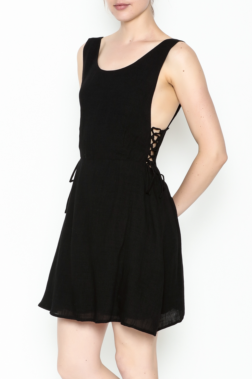 lucca couture Naja Mini Dress - Front Cropped Image