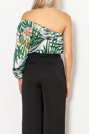 lucca couture Palm Print Top - Other