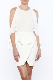 lucca couture White Mini Dress - Product Mini Image