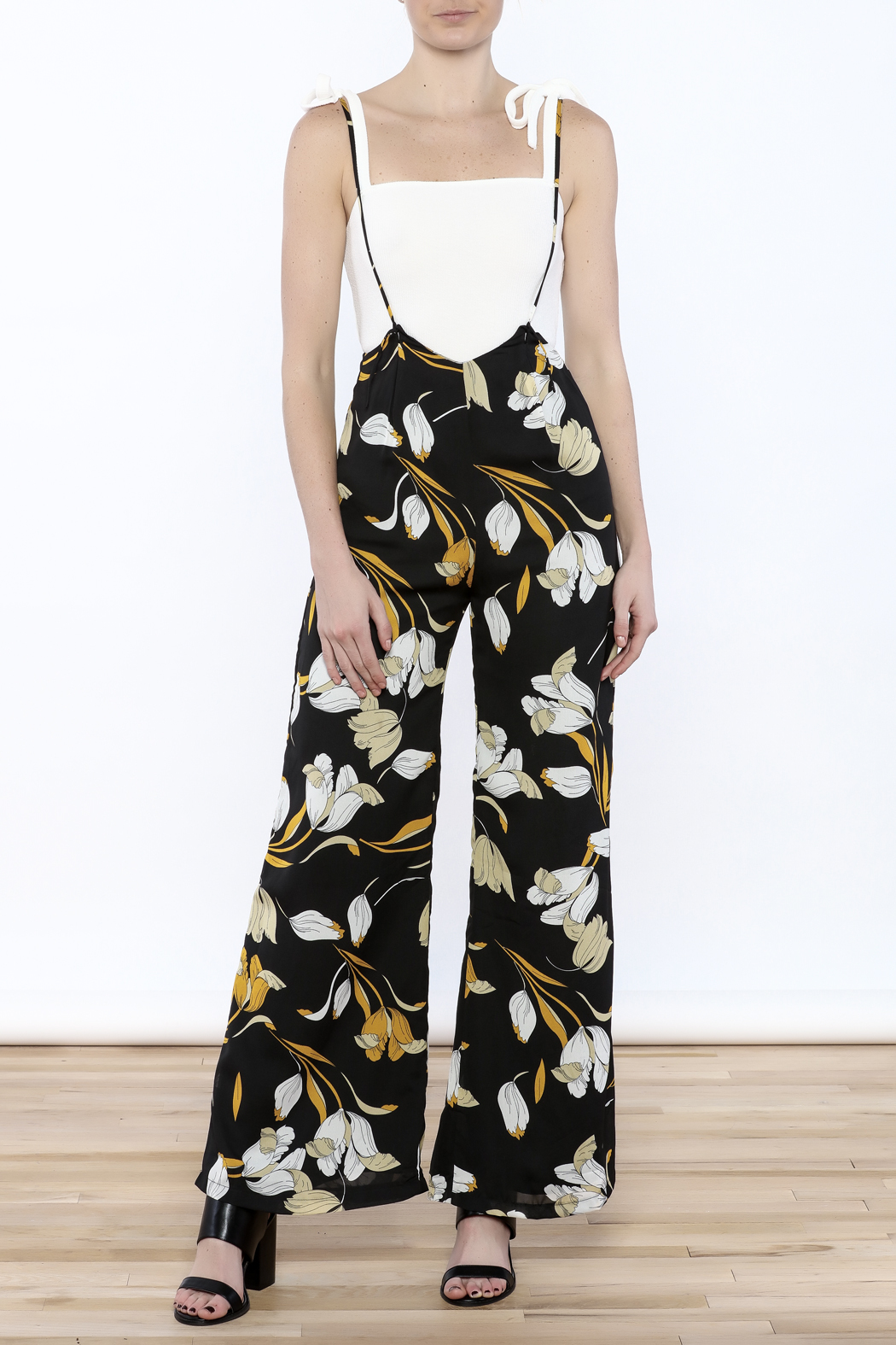 lucca couture Tulip Overall Jumpsuit - Main Image