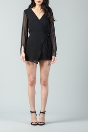 Lucca Front Wrap Romper - Product Mini Image