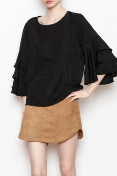 Shoptiques Product: Sonya Ruffle Sleeve Top