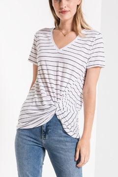 a9c946e4ea88f ... z supply Lucca Twist Front Tee - Product List Image