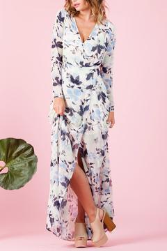 lucca couture Floral Wrap Dress - Alternate List Image