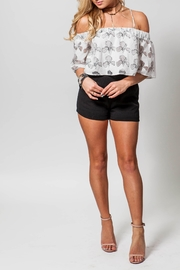 lucca couture Kristi Crop Top - Product Mini Image