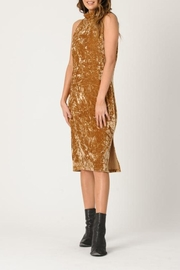 lucca couture Mila Velvet Dress - Product Mini Image