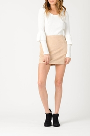 lucca couture Paris Vegan Suede - Front cropped