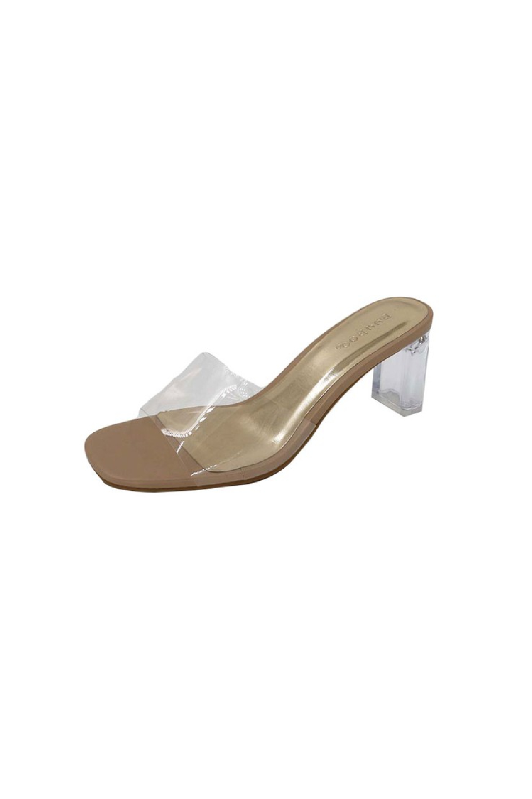 Bamboo Lucent-01 Heeled Sandal - Front Cropped Image