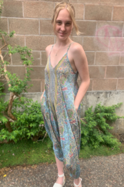 Paani Lucia Harem Jumpsuit - Front full body
