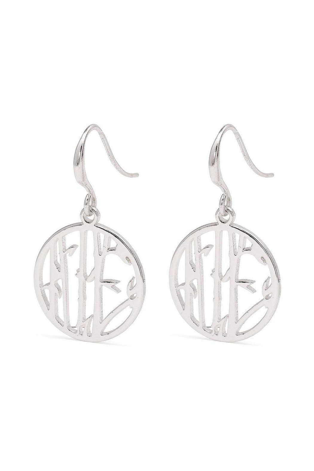 Pilgrim Lucia Silver-Plated Earrings - Front Full Image