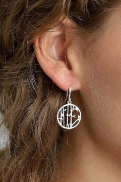 Pilgrim Lucia Silver-Plated Earrings - Product List Image