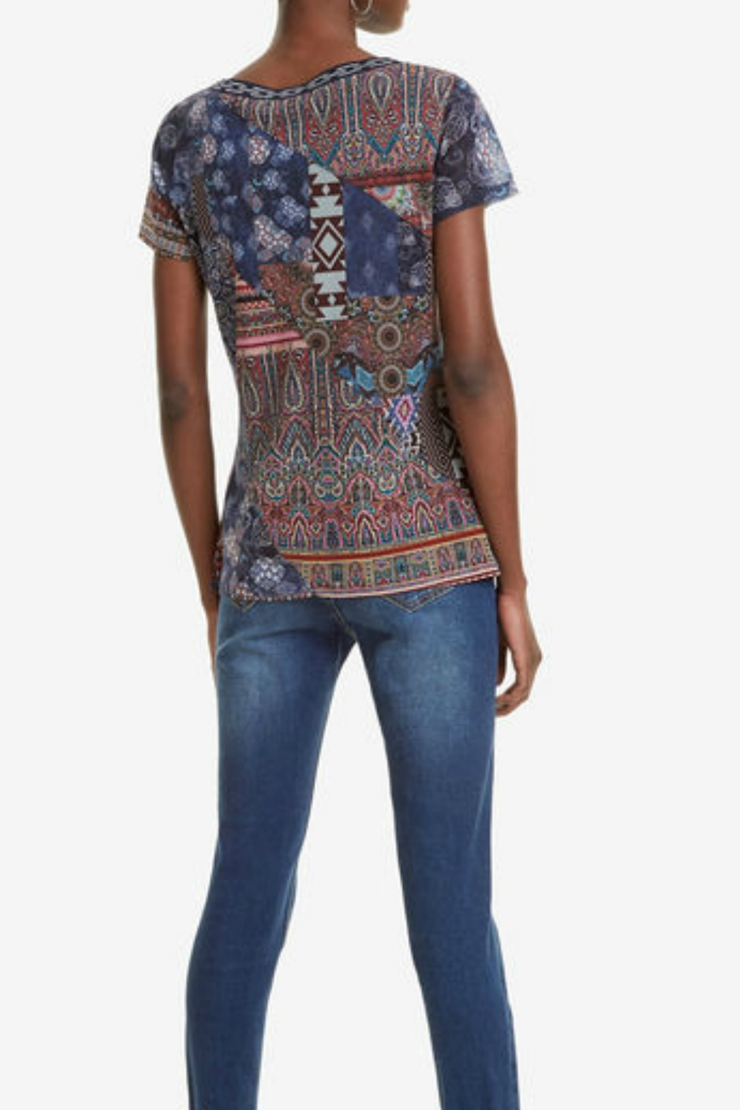 DESIGUAL Lucia T-Shirt - Front Full Image