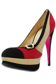 Luciano Padovan Color-Block Pump - Product Mini Image