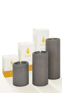 Shoptiques Product: Lucid Grey 8in-Pillar