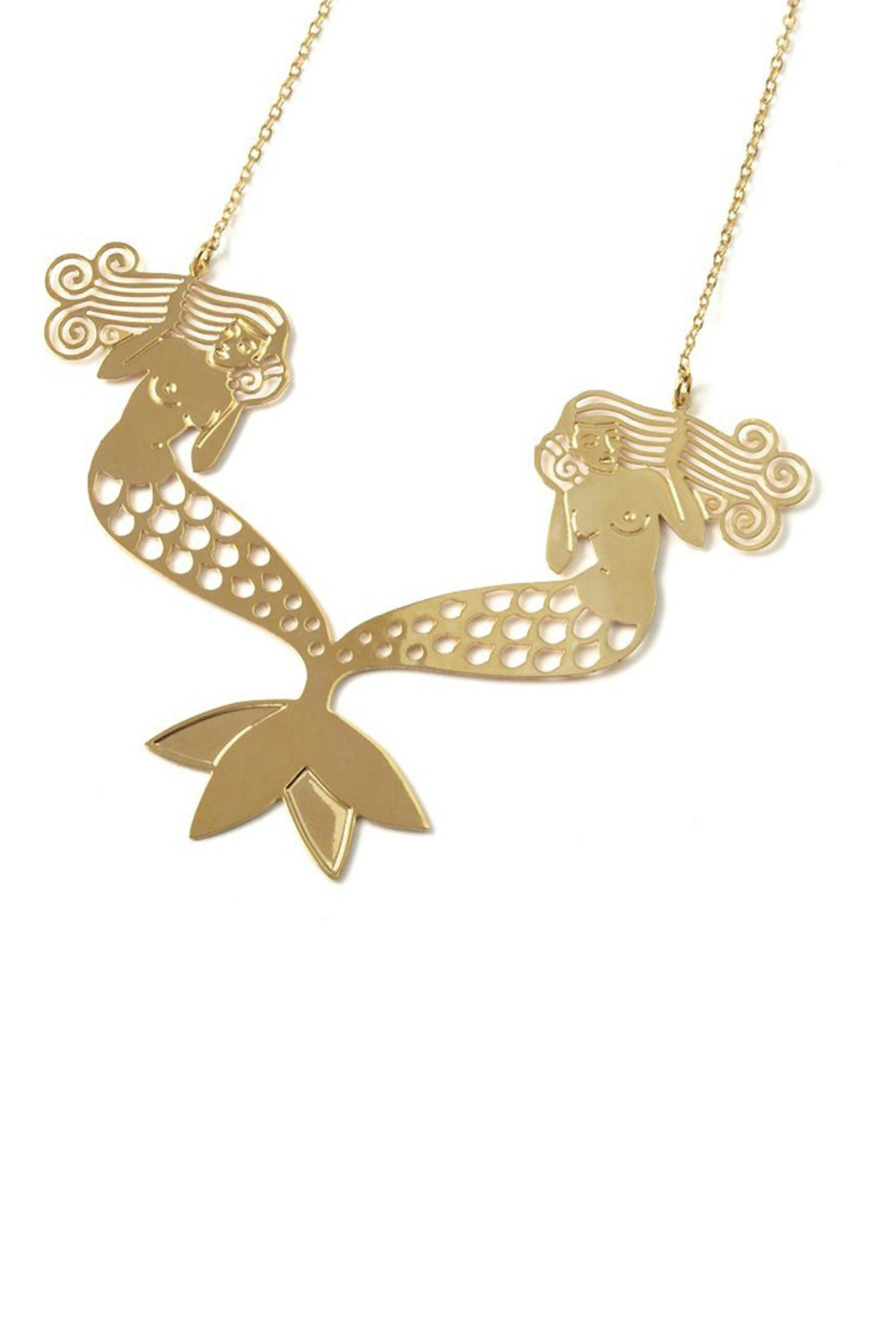 Lucie Saint-Leu Nymphs Necklace - Front Cropped Image