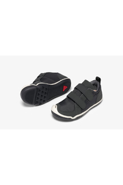 PLAE Lucien Black Sneaker - Front full body