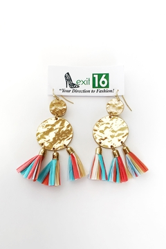 My Girl in LA Lucille Earrings - Alternate List Image