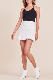 BB Dakota Lucine Ruffle-Bottom Skirt - Product Mini Image