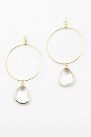 Embellish Lucite Drip Earrings - Product Mini Image