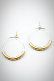 Embellish Lucite Earrings - Front cropped