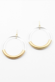 Embellish Lucite Earrings - Product Mini Image