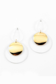 Embellish Lucite Modern Earrings - Product Mini Image