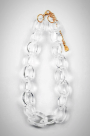 Embellish Lucite Small-Links Necklace - Product Mini Image