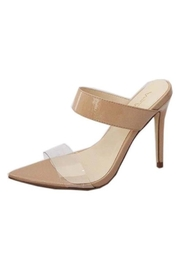 anne michelle Lucite Strap Heel - Product Mini Image