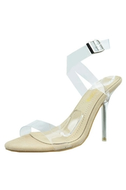 Chase & Chloe Lucite Strap Heel - Product Mini Image