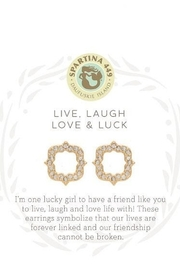 Spartina 449 Luck Stud Earrings - Product Mini Image