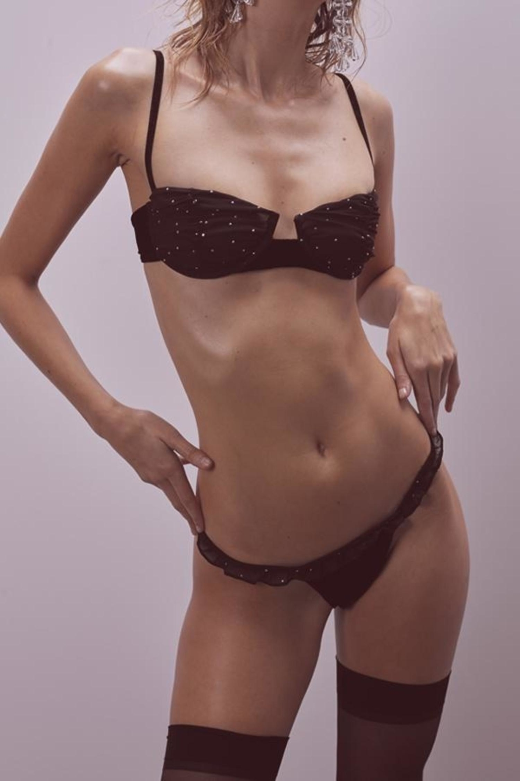 FOR LOVE & LEMONS Lucky Dice Underwire - Front Cropped Image