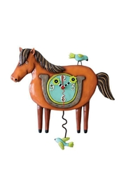 Allen Designs Studio Lucky Horse Clock - Product Mini Image