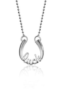 Alex Woo Lucky Horseshoe Necklace - Product List Image