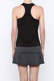 Lucky in Love V-Neck Workout Tank - Back cropped