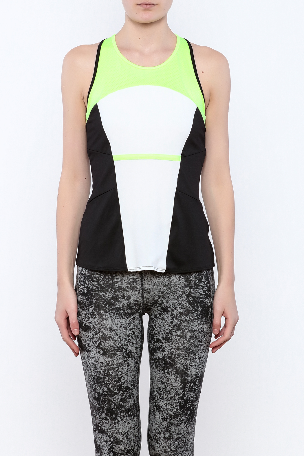 Lucky in Love Workout Cami Top - Side Cropped Image