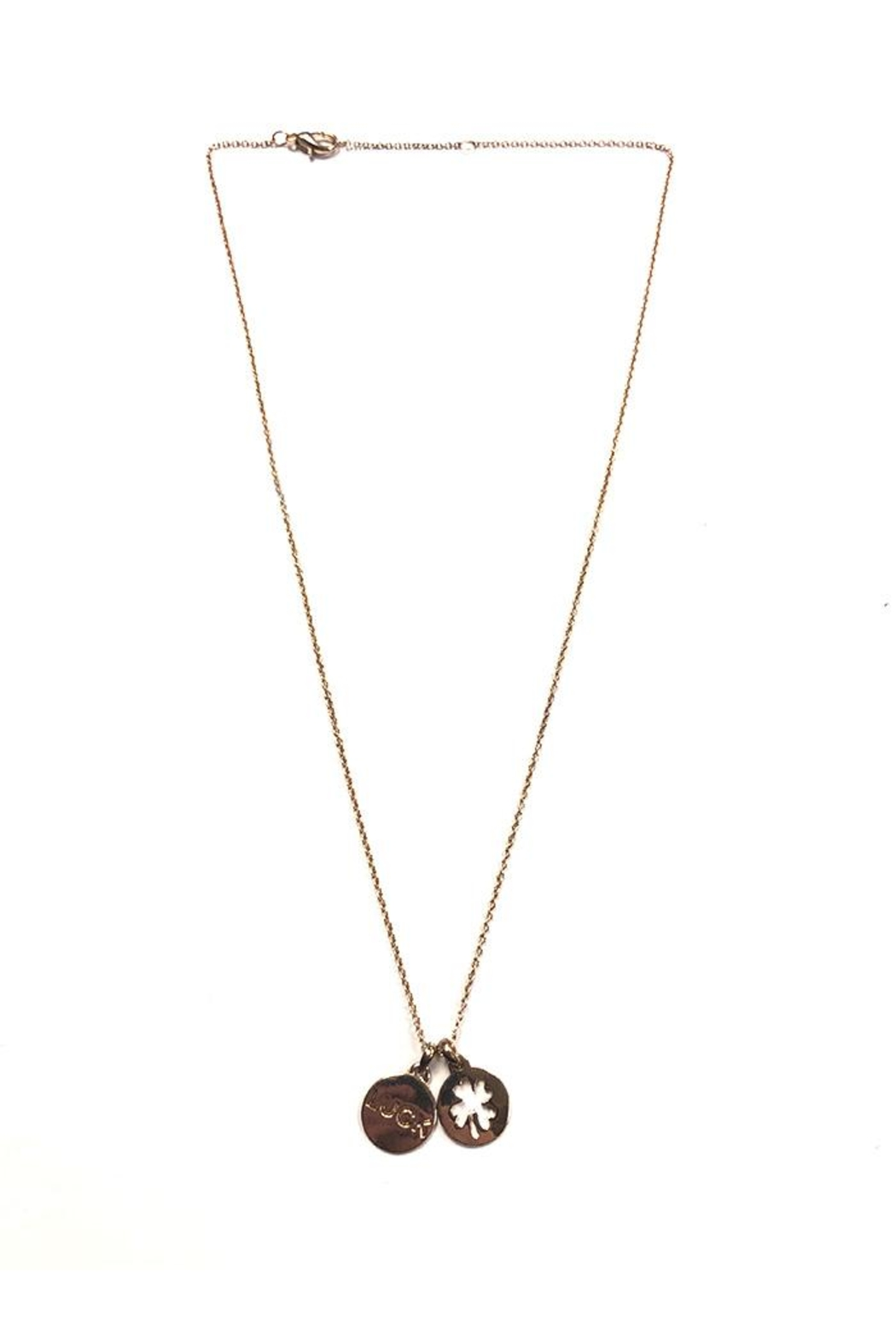 Lets Accessorize Lucky Pendant Necklace - Main Image