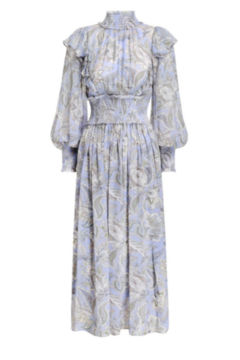 Zimmermann Lucky Shirred Midi Dress - Product List Image
