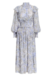 Zimmermann Lucky Shirred Midi Dress - Product Mini Image