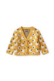 Tea Collection Lucky Stars Baby Cardigan - Product Mini Image