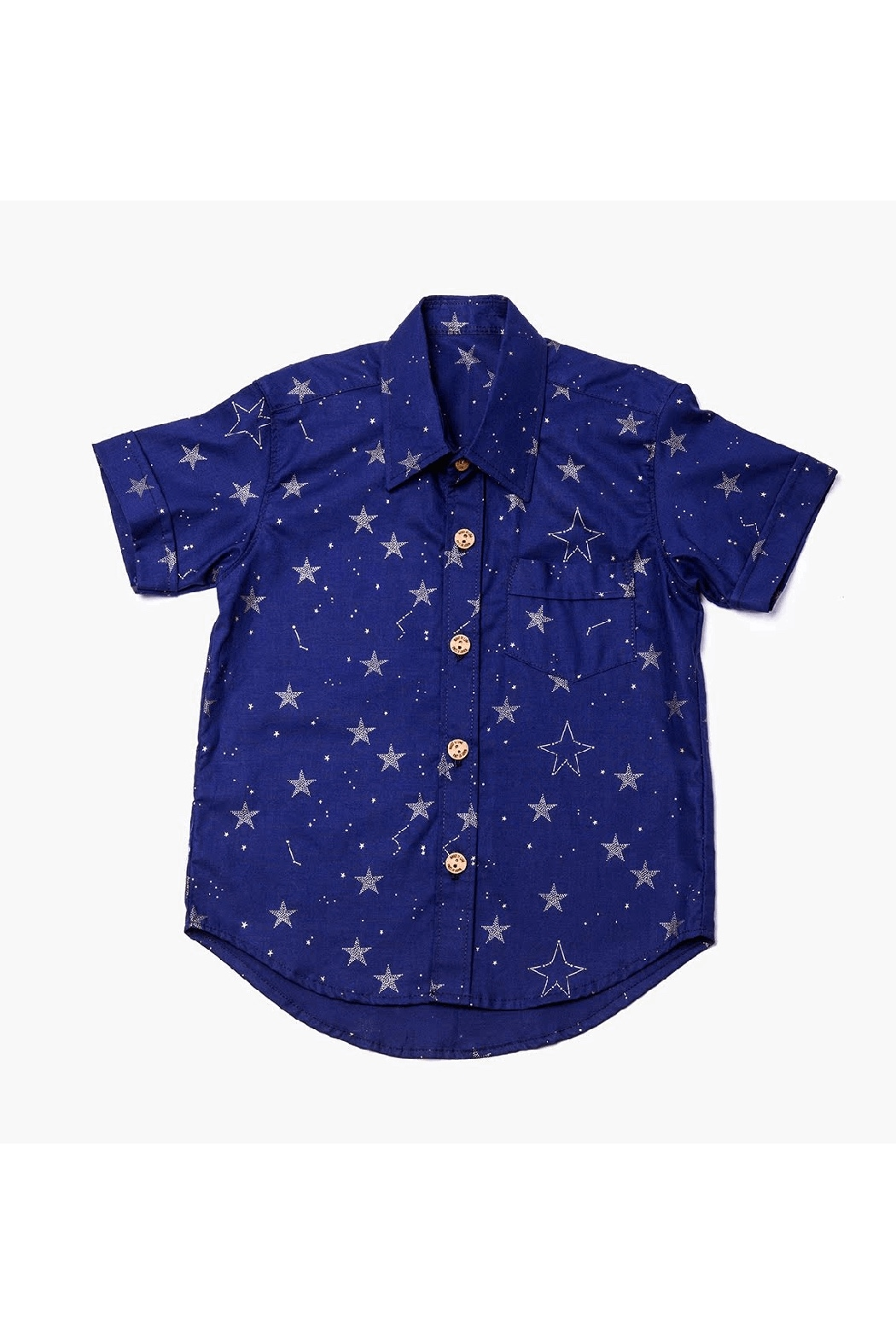 Mandy by Gema Lucky Stars Navy Shirt - Main Image