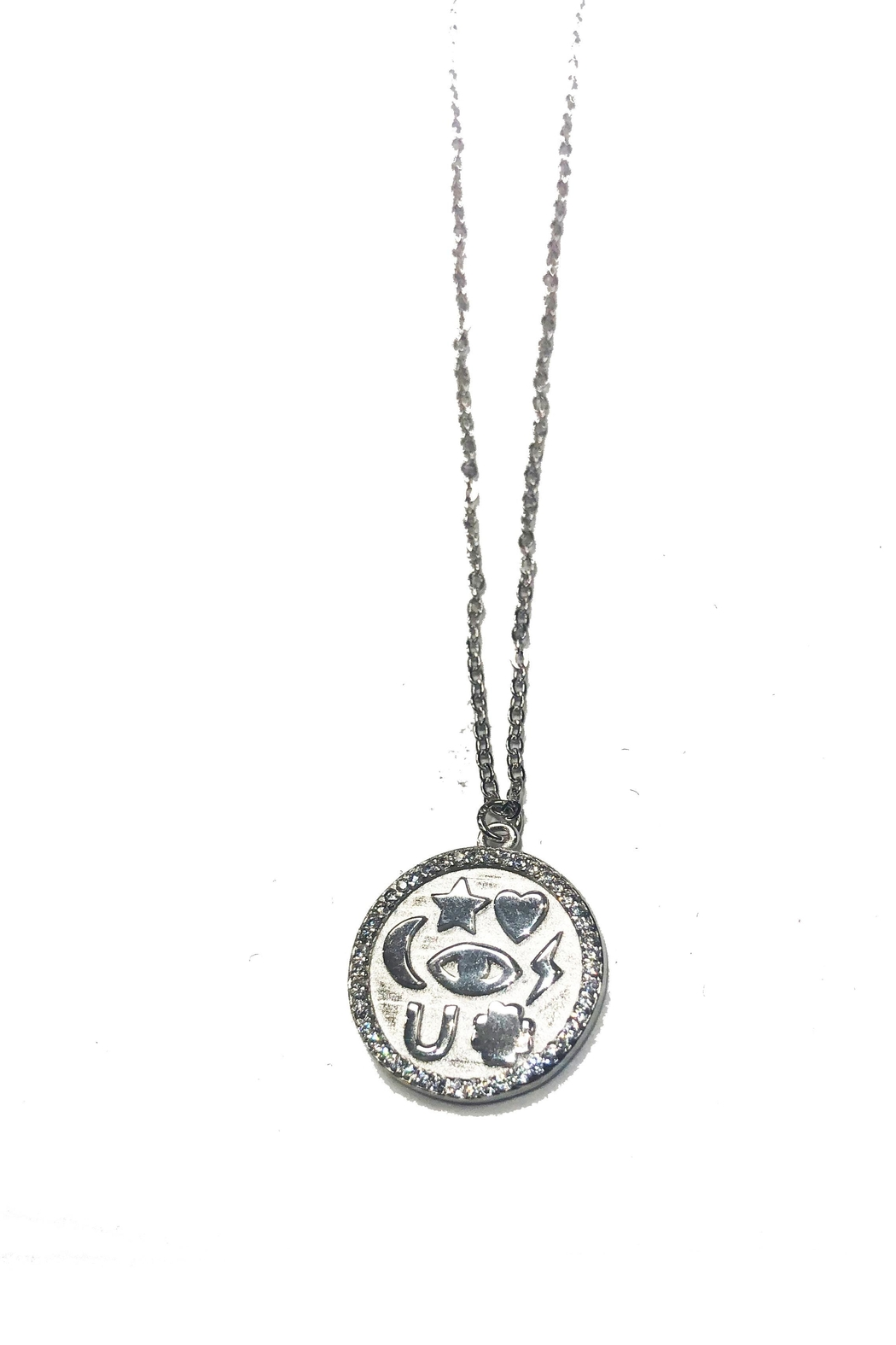 Lets Accessorize Lucky Token Necklace - Main Image