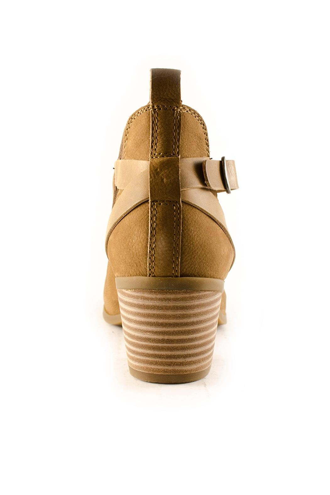 Lucky Brand Banu Booties - Back Cropped Image