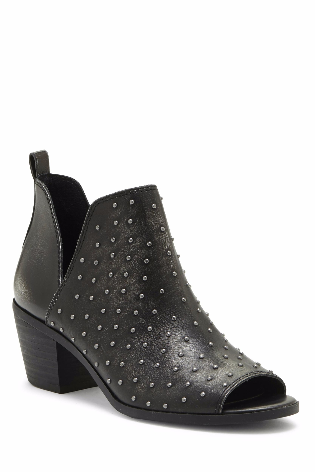 Lucky Brand Barlenna Peep Toe Bootie - Front Full Image