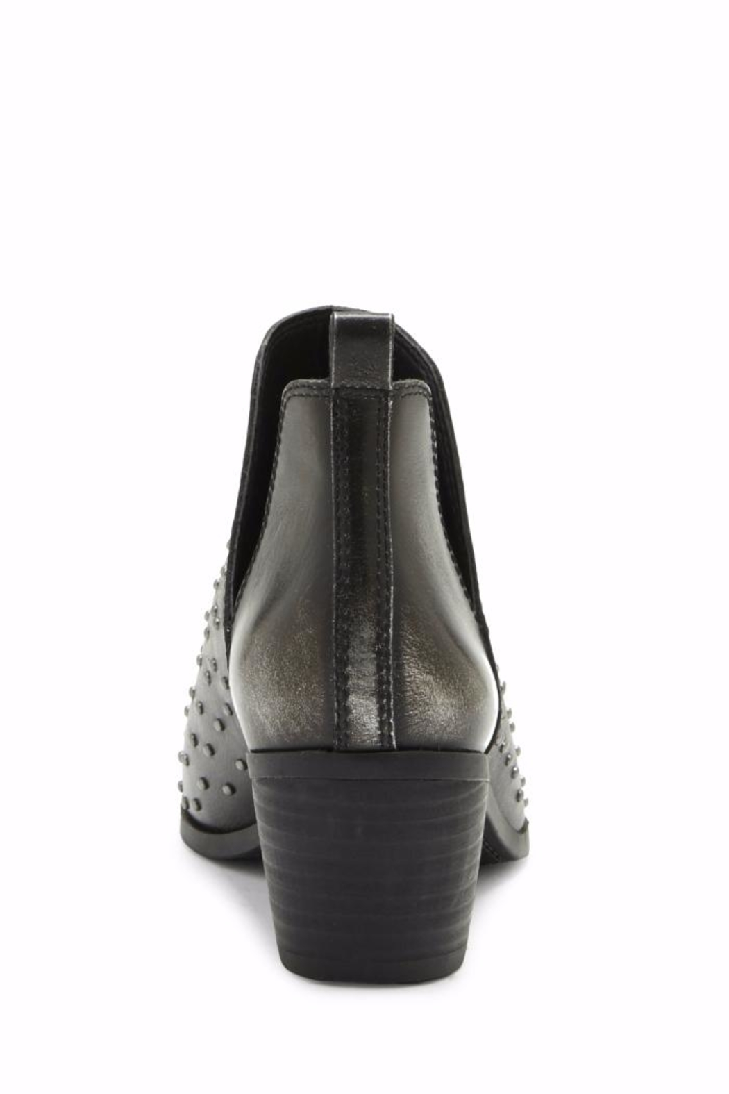 Lucky Brand Barlenna Peep Toe Bootie - Back Cropped Image