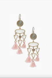 Lucky Brand Chandelier Tassel Earring - Product Mini Image