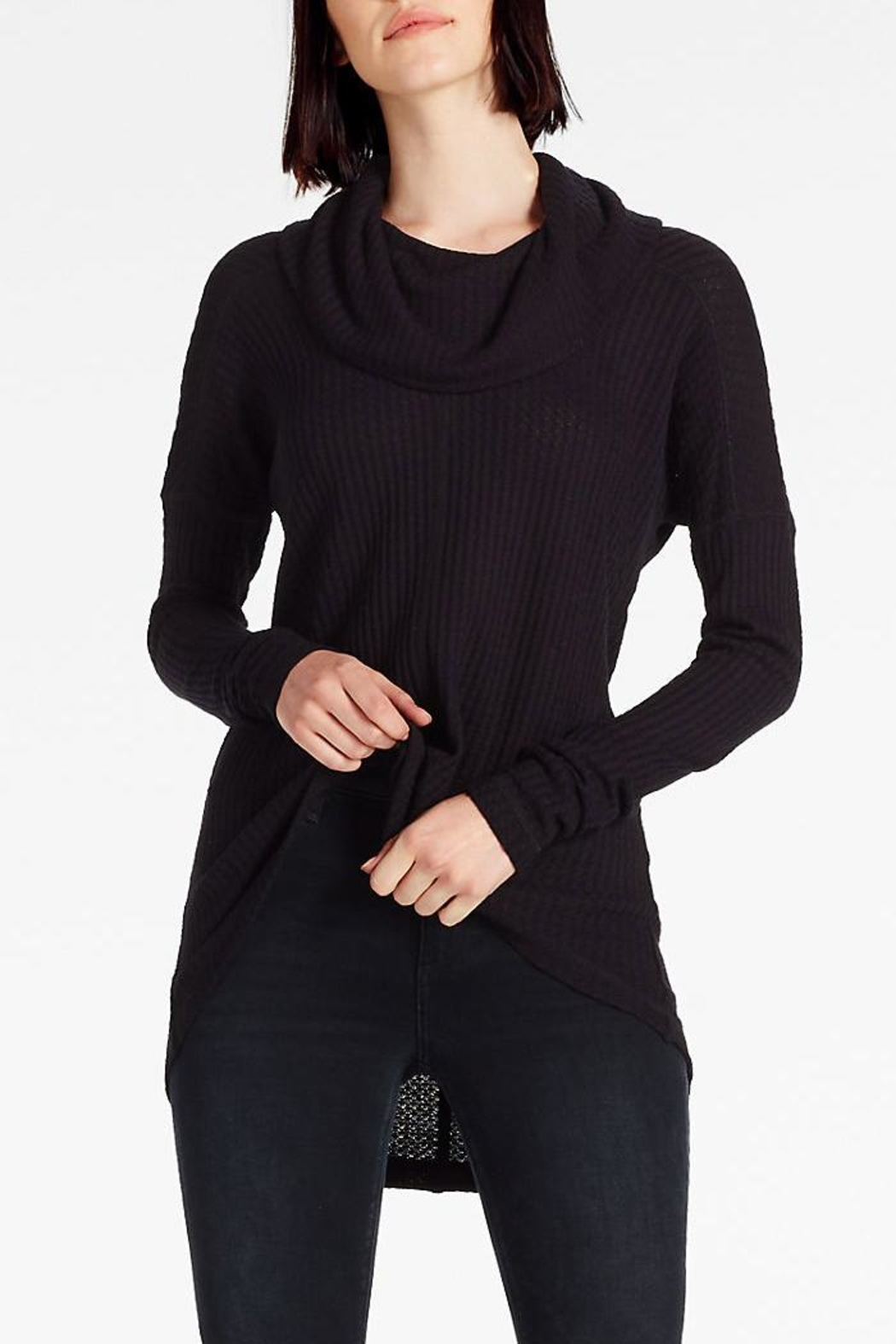 Lucky Brand Cowlneck Thermal Sweater - Main Image