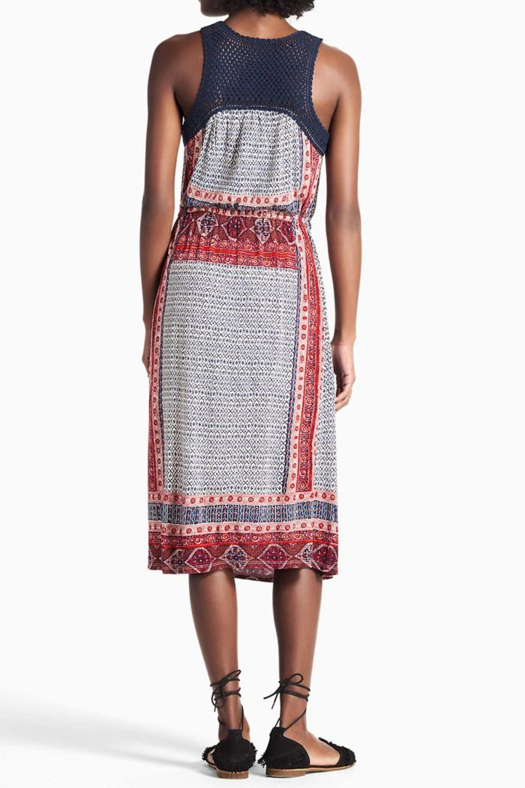 Lucky Brand Crochet Festival Dress - Front Full Image