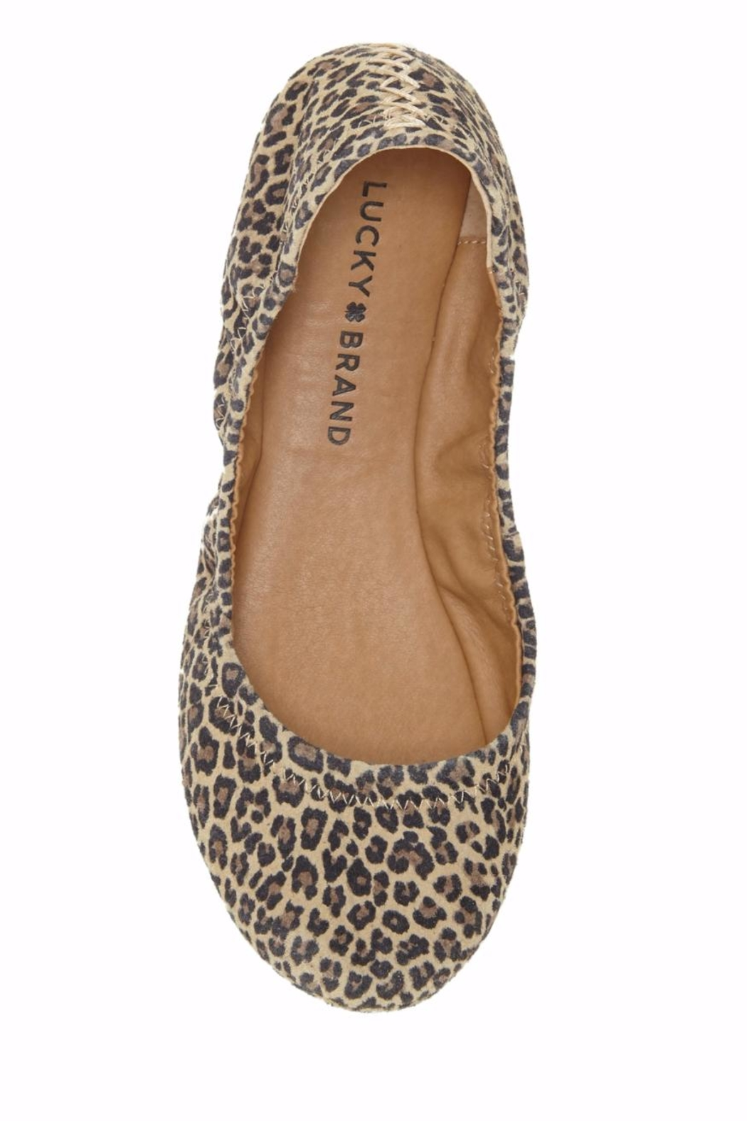 Lucky Brand Emmie Flat Shoes - Side Cropped Image