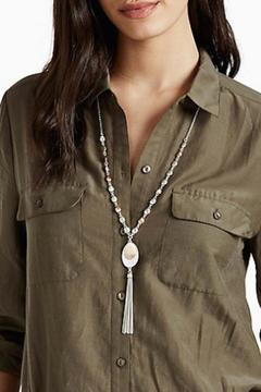 Shoptiques Product: Hammered Metal Necklace
